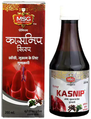 MSG Kasnip Cough & Cold Relief Syrup