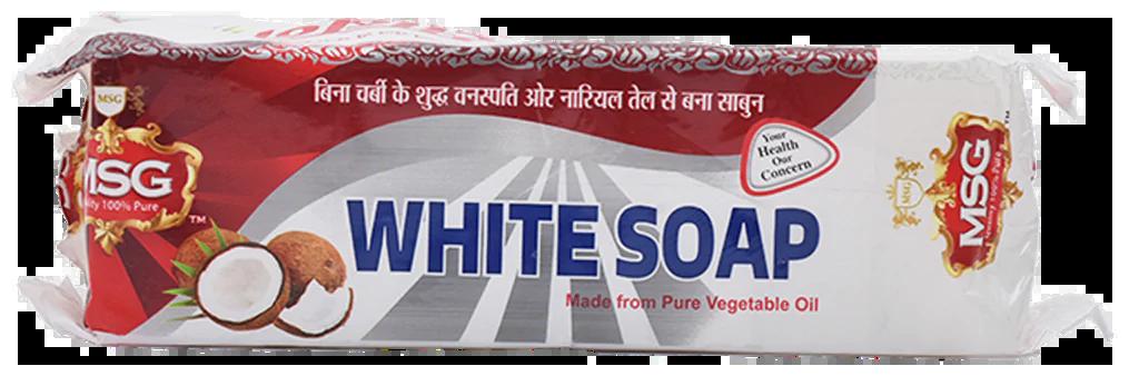 MSG White Laundry Soap